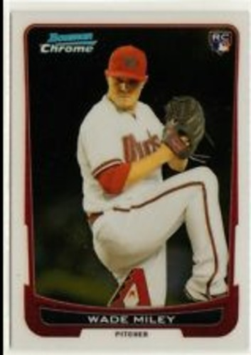 Photo of 2012 Bowman Chrome Draft #15 Wade Miley RC