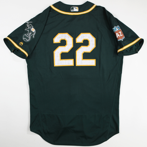 Photo of 2016  Spring Training -  Game-Used Jersey - Josh Reddick (A's) - Size 46