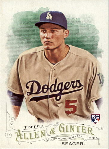 Photo of 2016 Topps Allen and Ginter #121 Corey Seager RC