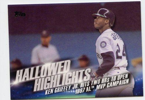 Photo of 2016 Topps Hallowed Highlights #HH10 Ken Griffey Jr.
