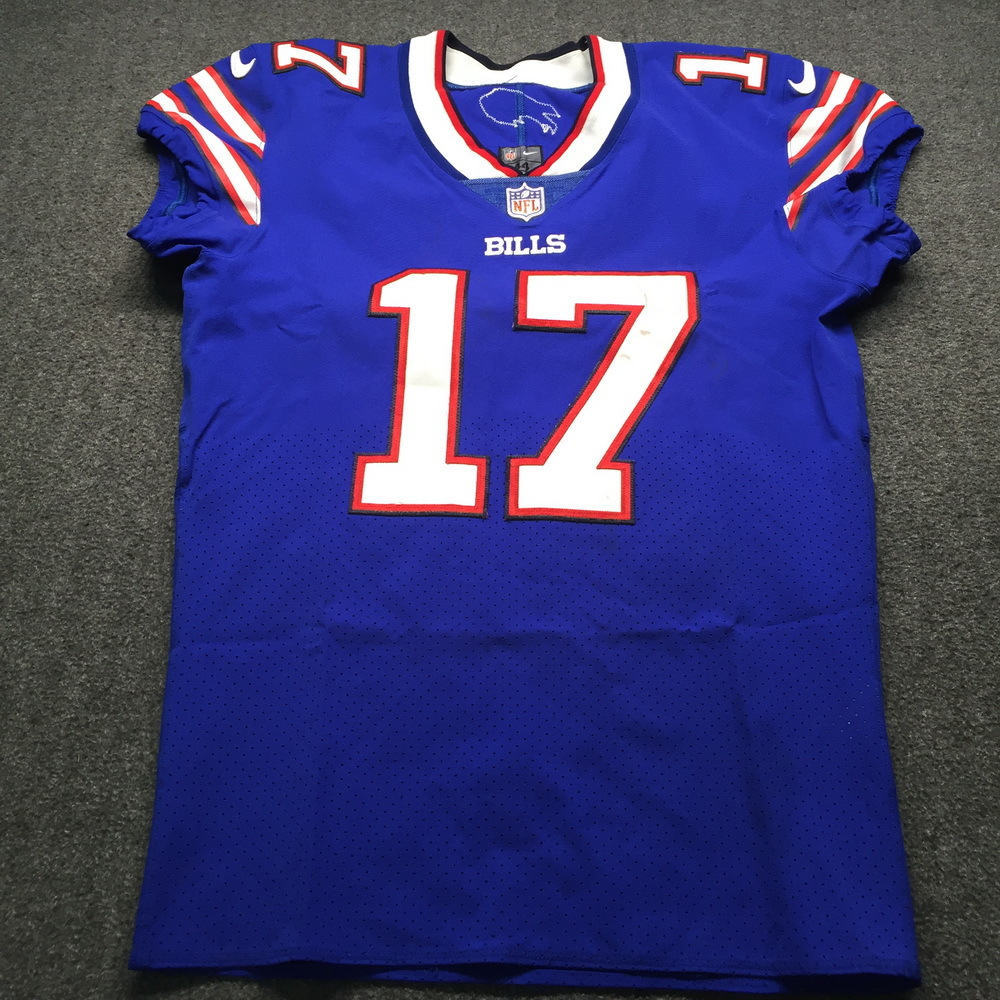 NFL Auction | Crucial Catch - Bills Josh Allen Signed Used Jersey ...