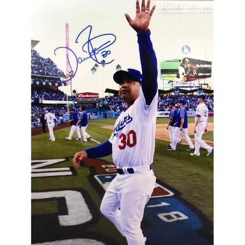 Photo of Dave Roberts Authentic Autographed Photograph