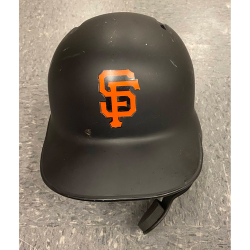 Photo of 2019 Game Used Batting Helmet - worn by #1 Kevin Pillar - authenticated on 9/25 vs COL and 9/29 LAD - size 7 1/8