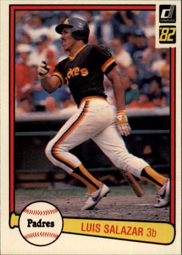 Photo of 1982 Donruss #472 Luis Salazar