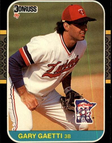 Photo of 1987 Donruss #122 Gary Gaetti