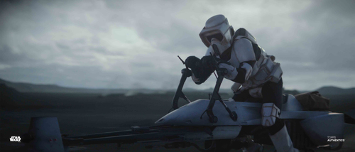 Bike Scout Trooper