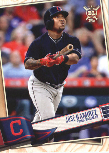 Photo of 2019 Topps Big League #87 Jose Ramirez