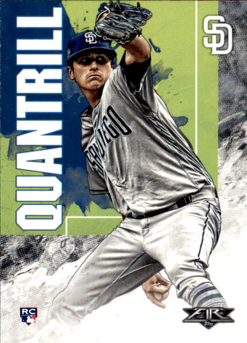 Photo of 2019 Topps Fire #48 Cal Quantrill RC