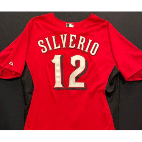 Photo of SILVERIO -- Authentic Reds Jersey -- $1 Jersey Auction -- $5 Shipping -- Size 44 (Not MLB Authenticated)
