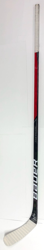 #28 Damon Severson Game Used Stick - Autographed - New Jersey Devils