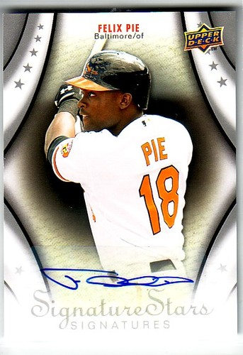 Photo of 2009 Upper Deck Signature Stars #164 Felix Pie AU