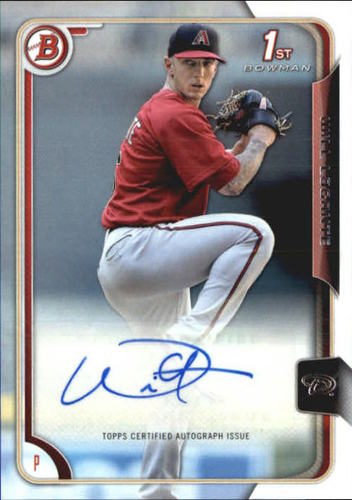 Photo of 2015 Bowman Prospects Autographs #PAWL Will Locante