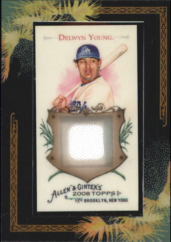 Photo of 2008 Topps Allen and Ginter Relics #DRY Delwyn Young Jsy C