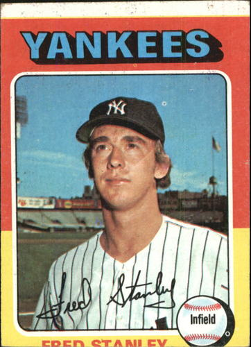 Photo of 1975 Topps #503 Fred Stanley