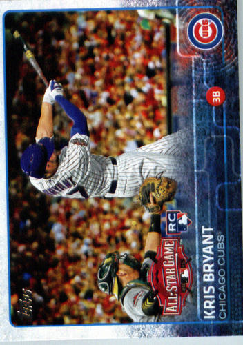 Photo of 2015 Topps Update #US242 Kris Bryant Rookie card