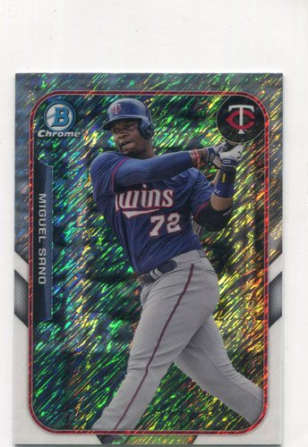 Photo of 2015 Bowman Chrome Farm's Finest Minis #FFMMS Miguel Sano