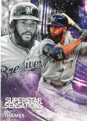 Photo of 2018 Topps Superstar Sensations #SSS38 Eric Thames