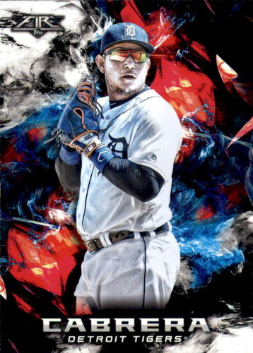 Photo of 2018 Topps Fire #142 Miguel Cabrera