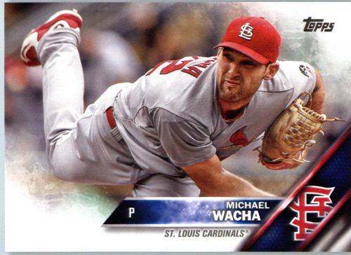 Photo of 2016 Topps #579A Michael Wacha