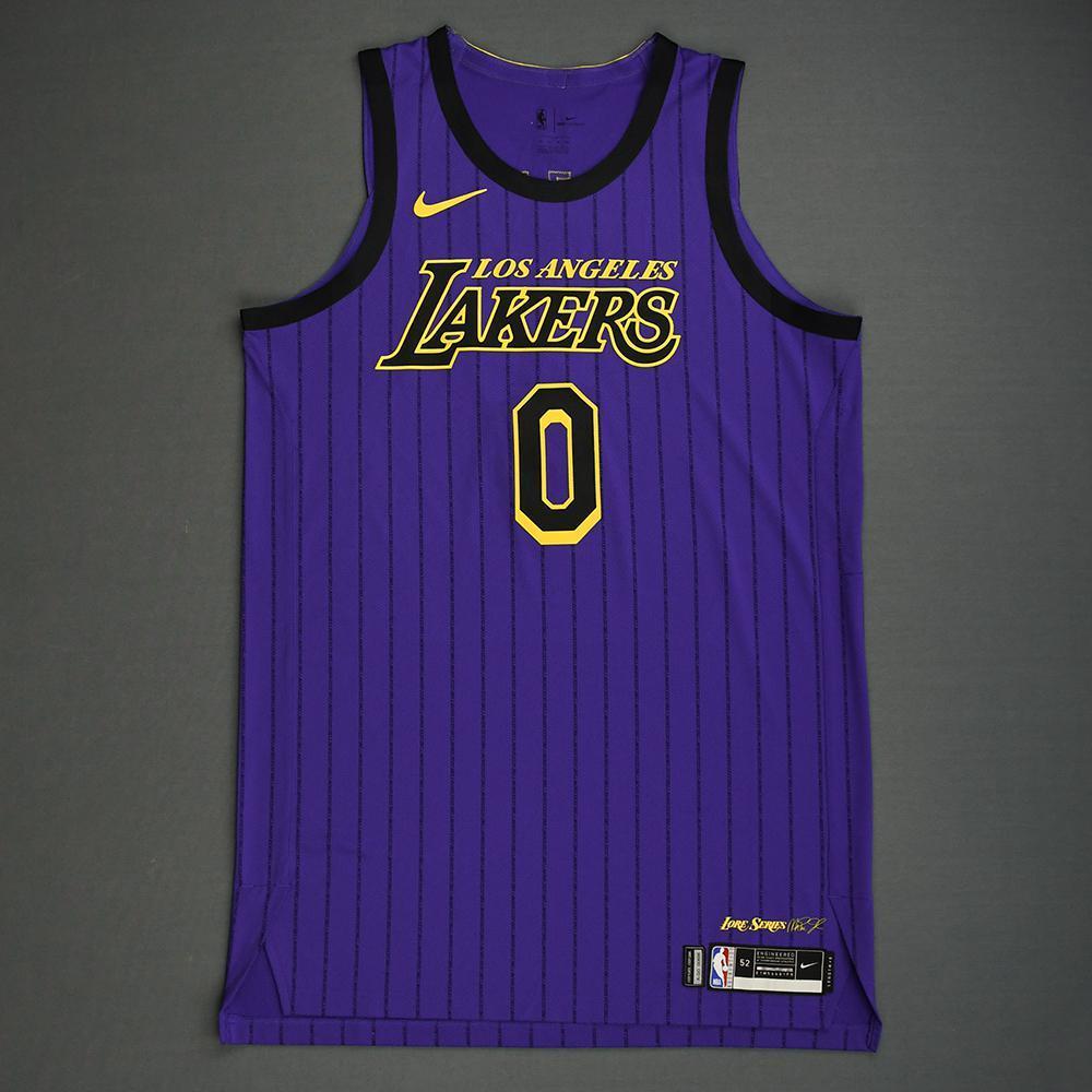 huge selection of f6a15 3e01f Kyle Kuzma - Los Angeles Lakers - 2019 Taco Bell Skills ...
