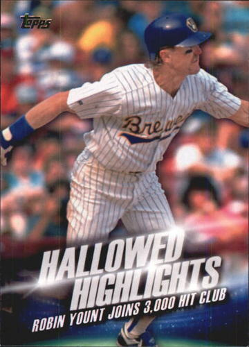 Photo of 2016 Topps Hallowed Highlights #HH13 Robin Yount