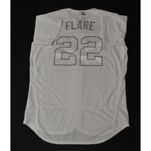 "Photo of Jack ""FLARE"" Flaherty St. Louis Cardinals Game-Used 2019 Players' Weekend Jersey"