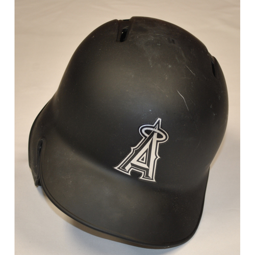 "Photo of Kole ""KOLESKI"" Calhoun Los Angeles Angels Game-Used 2019 Players' Weekend Helmet"
