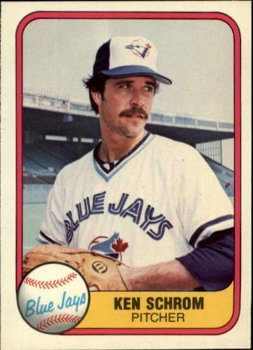 Photo of 1981 Fleer #425 Ken Schrom RC