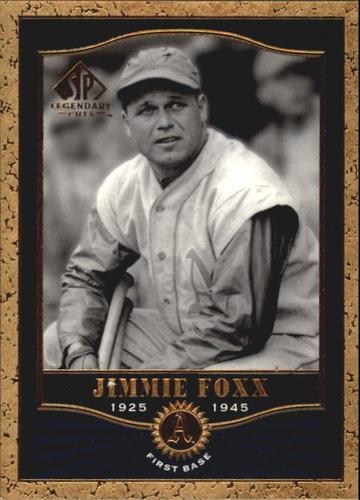 Photo of 2001 SP Legendary Cuts #2 Jimmie Foxx