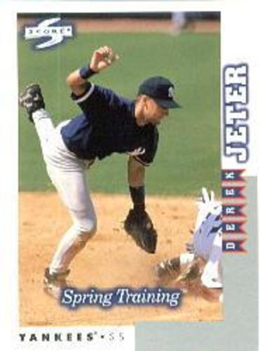 Photo of 1998 Score Rookie Traded #262 Derek Jeter