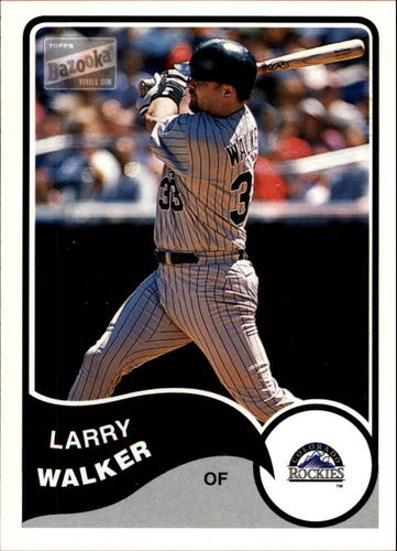 Photo of 2003 Bazooka #60 Larry Walker
