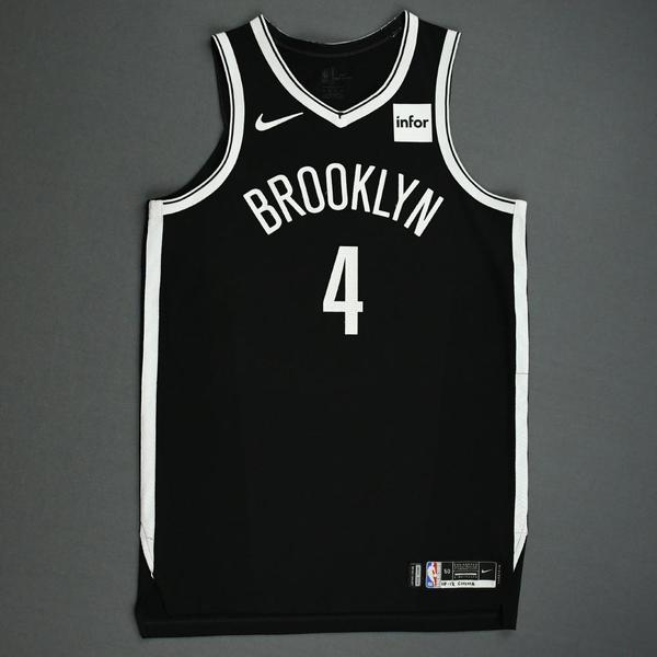 Image of Henry Ellenson - Brooklyn Nets - NBA China Games - Game-Issued Icon Edition Jersey - 2019-20 NBA Season