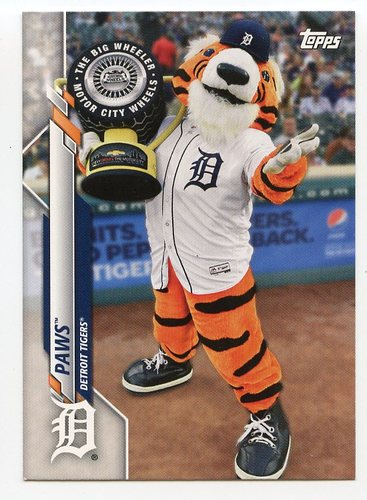 Photo of 2020 Topps Opening Day Mascots #M6 Paws