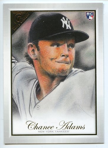 Photo of 2019 Topps Gallery #111 Chance Adams RC