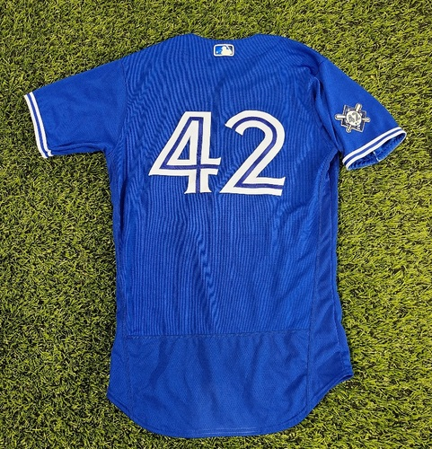Photo of CHARITY AUCTION: Authenticated Game Used #42 Jersey: Matt Buschmann (Aug 28, 20). Size 42.