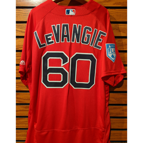 Coach Dana LeVangie #60 2019 Spring Training Team Issued Red Jersey