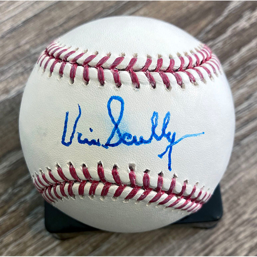 UMPS CARE AUCTION: Vin Scully Signed Baseball