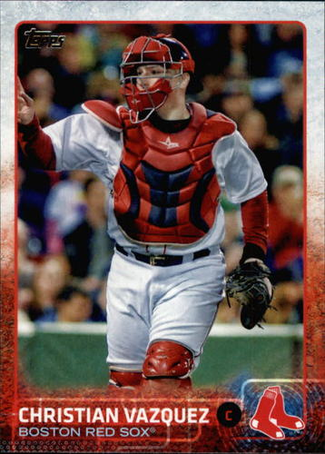 Photo of 2015 Topps #445 Christian Vazquez