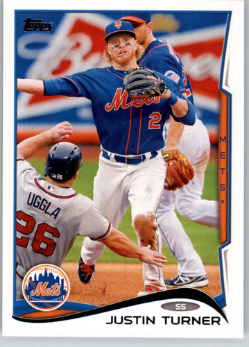 Photo of 2014 Topps #187 Justin Turner