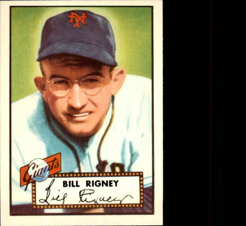 Photo of 1983 Topps 1952 Reprint #125 Bill Rigney