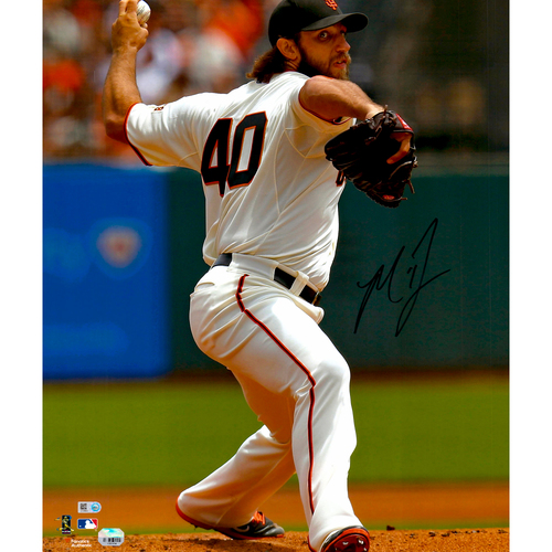"Photo of Madison Bumgarner San Francisco Giants Autographed 16"" x 20"" Vertical Photograph"