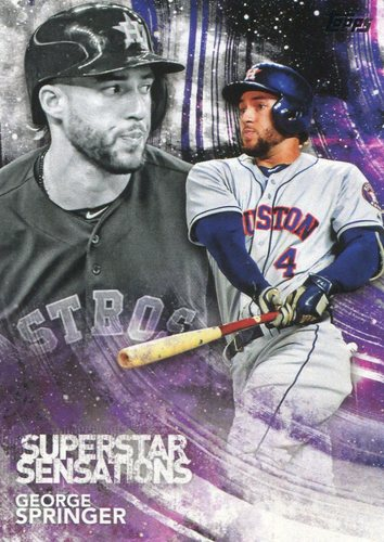 Photo of 2018 Topps Superstar Sensations #SSS39 George Springer