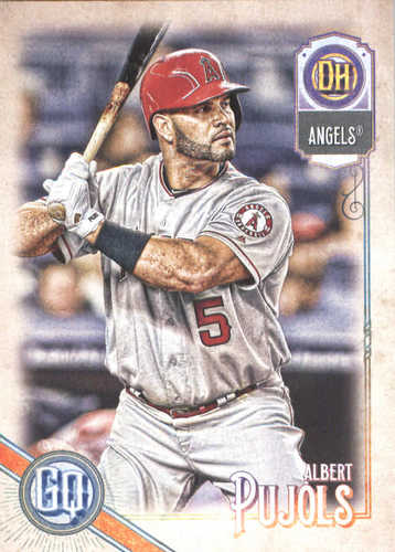 Photo of 2018 Topps Gypsy Queen #223 Albert Pujols