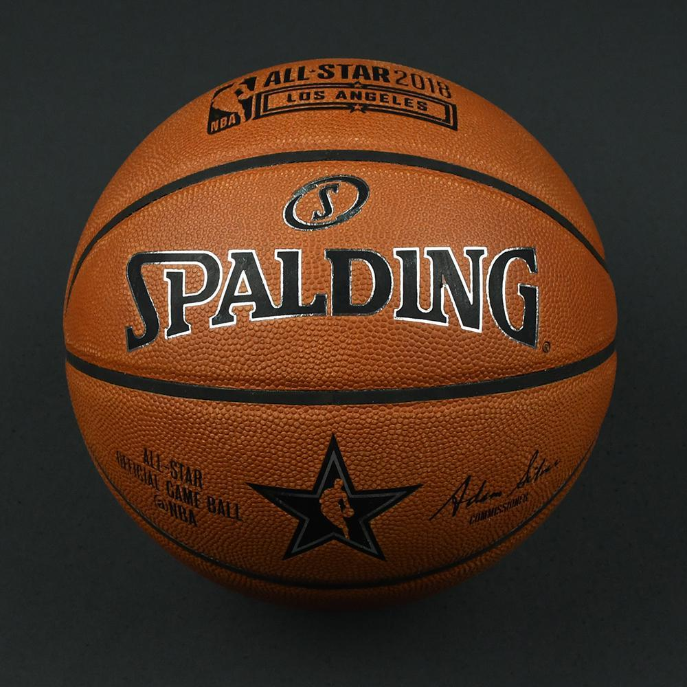 NBA All-Star 2018 Mtn Dew Kickstart Rising Stars - Game-Used Basketball (3rd Quarter)