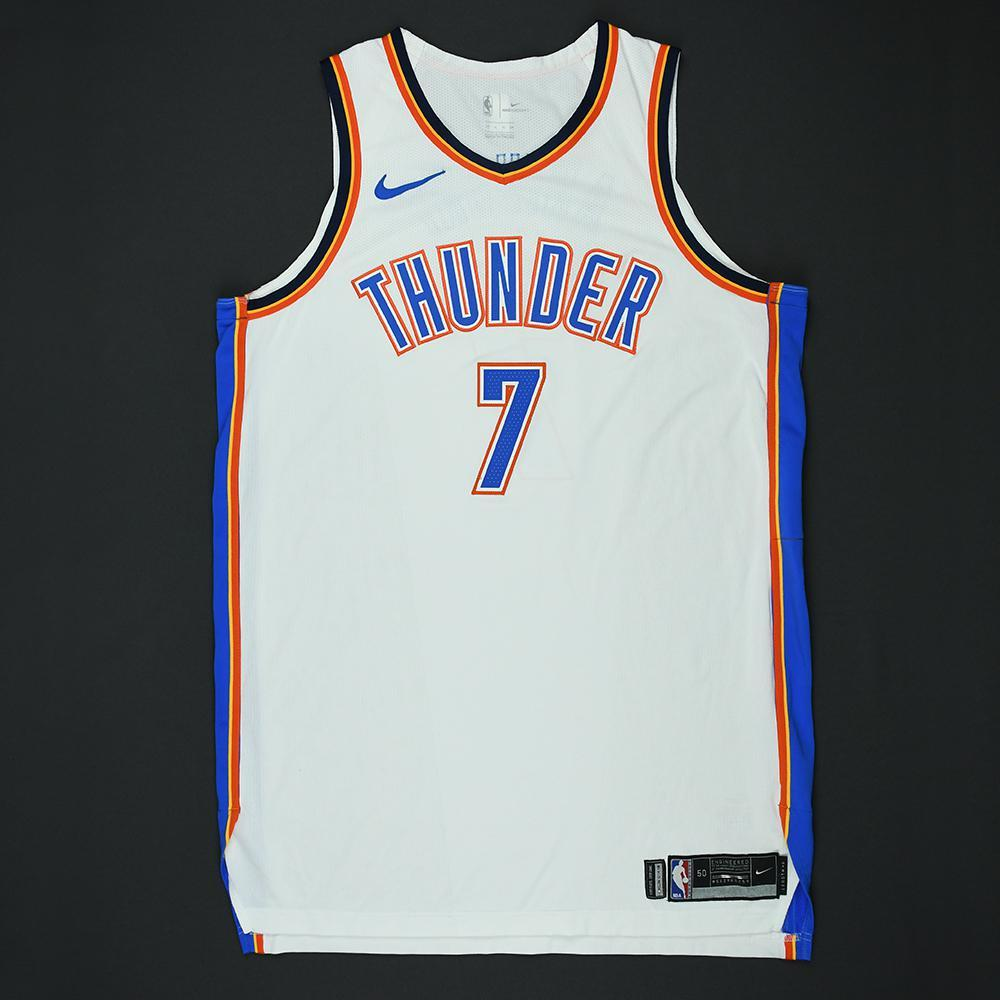 Carmelo Anthony  - Oklahoma City Thunder - 2018 NBA Playoffs Game-Worn Jersey