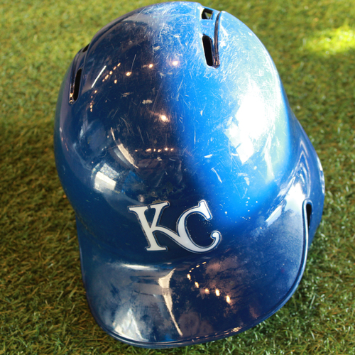 Photo of Team-Issued Batting Helmet: Cheslor Cuthbert (Size - 7 3/8)