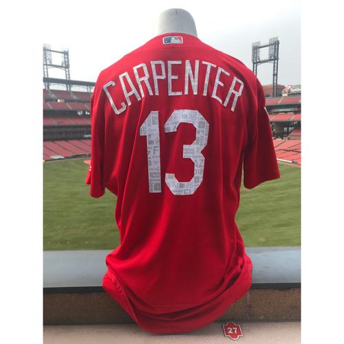 Cardinals Authentics: Team Issued Matt Carpenter 2018 Spring Training Jersey