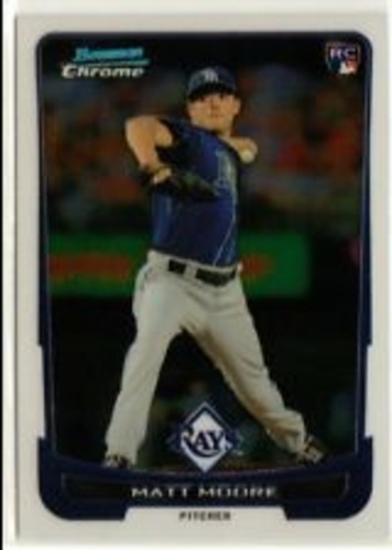 Photo of 2012 Bowman Chrome Draft #20 Matt Moore RC