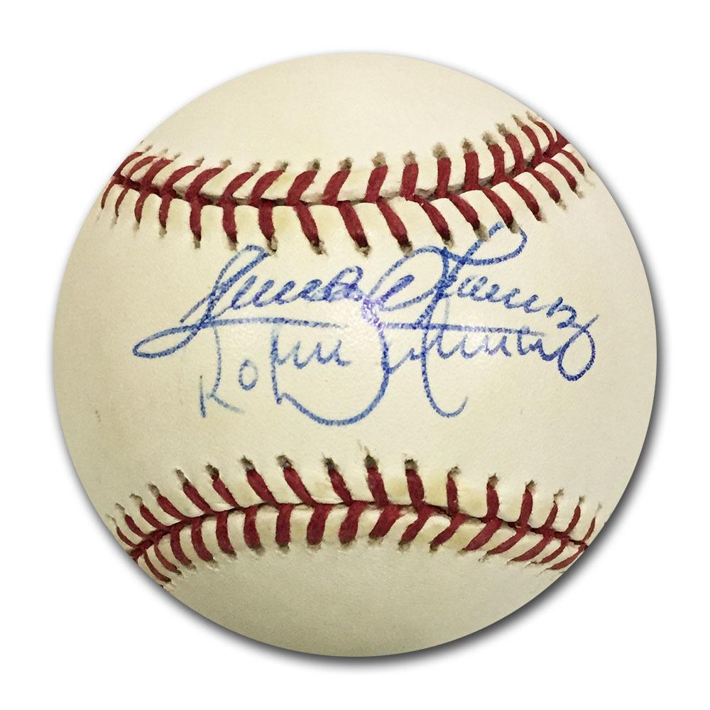 Roberto & Sandy Alomar Dual-Signed 1991 MLB All-Star Game Official Baseball