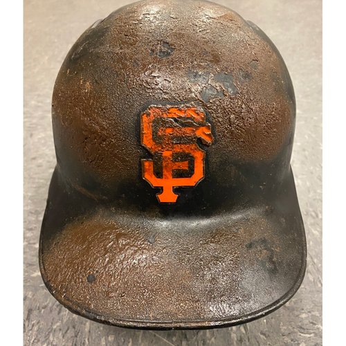 Photo of 2019 Game Used Batting Helmet - worn by #21 Stephen Vogt - Authenticated on 9/25/19 vs COL - size 7 1/2